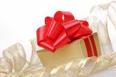 Das geschenk kiste — Stockfoto