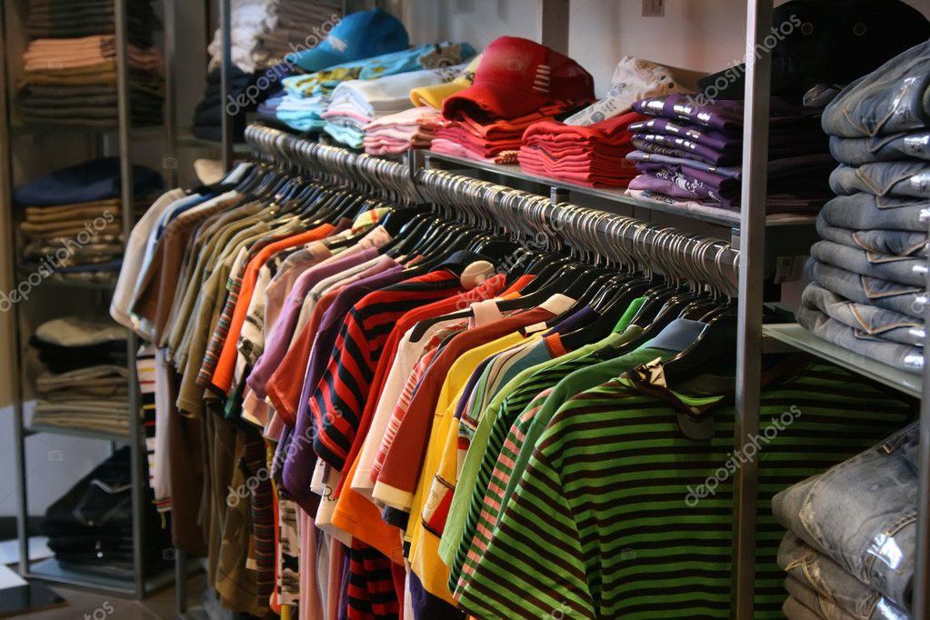 Clothes in shop — Stock Photo #1841815