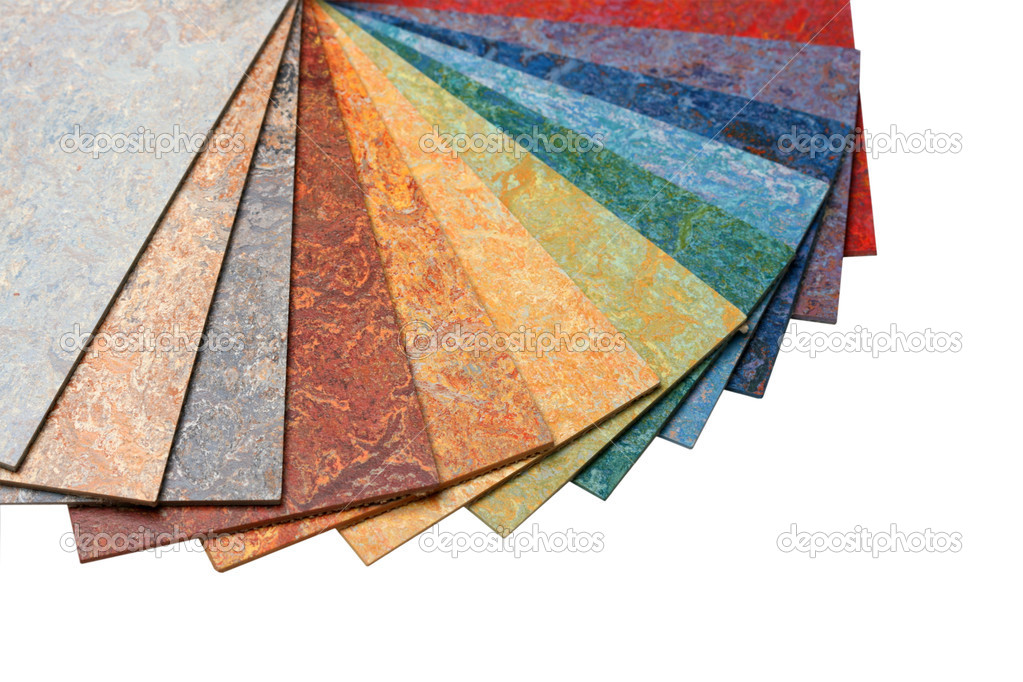 Samples of color of a carpet covering — Stock Photo #1841934