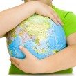 Globe in hands — Stock Photo #1237266
