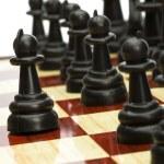 Play chess — Stock Photo