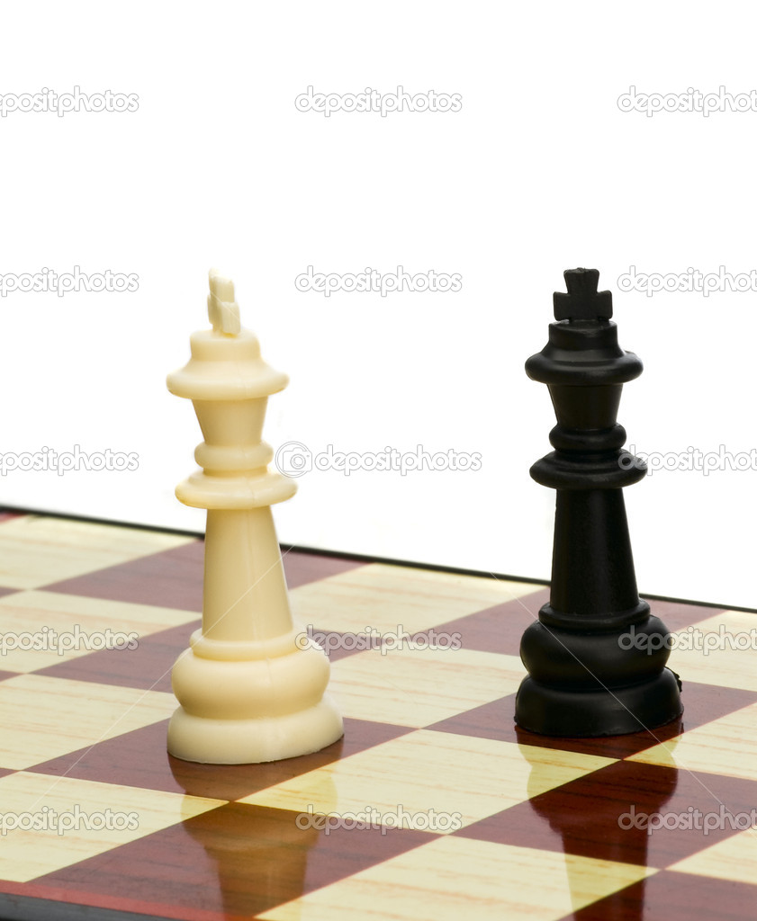 Play chess: king and queen — Stock Photo © anele77 #1264564