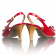 Stock Photo: Red shoe