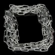 Stock Photo: Chain frame