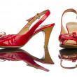 Red shoe — Stockfoto #1279283