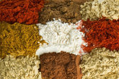 Spice background — Stock Photo