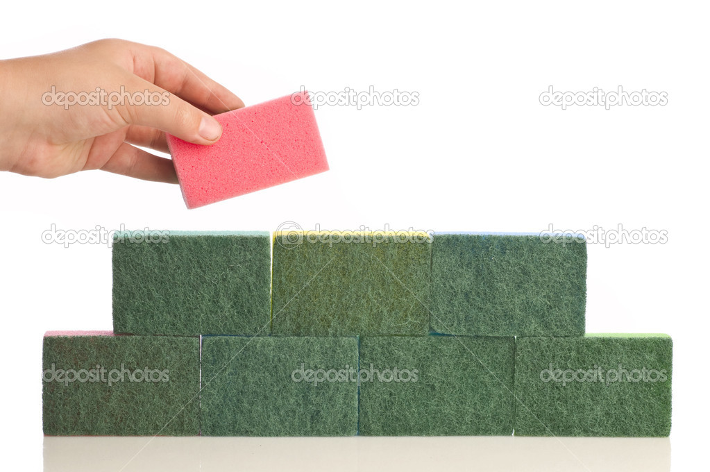 Kitchen sponge  — Stock Photo #1275154