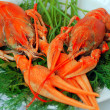 Foto de Stock  : Boiled crawfish