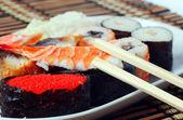 Sushi. rolos — Foto Stock