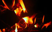 Isolated flame — Stock Photo