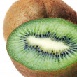 Kiwi on white background — Stock Photo