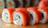 Traditional Japanese food . Sushi — Foto Stock