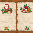 Christmas paper backgrounds — ストック写真