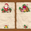 Christmas paper backgrounds - Stock Photo