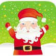 Cute Santa claus — Stock Vector