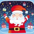 Royalty-Free Stock Vector Image: Santa series
