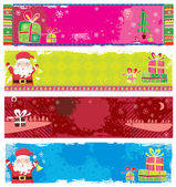 Banners de natal bonito. — Vetorial Stock