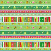 Christmas Seamless series 4 — Stock Vector