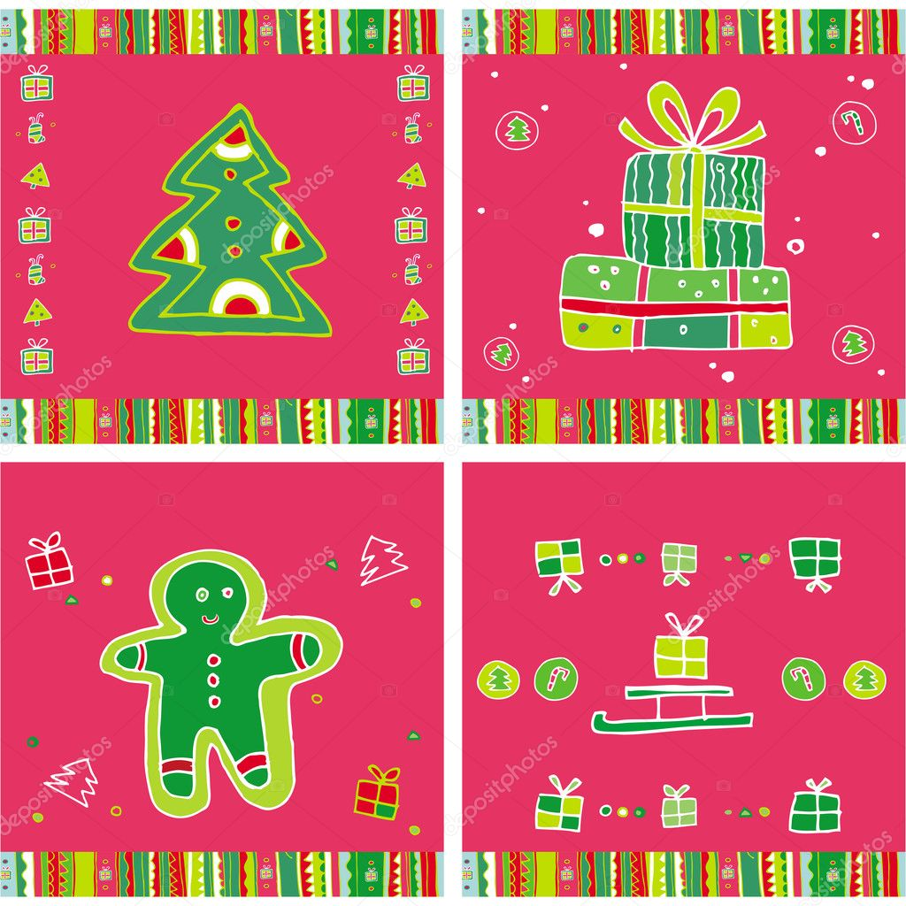 Christmas Seamless Pattern.  — Stock Vector #1224733