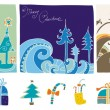 Christmas design elements — Foto de Stock