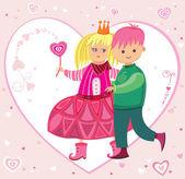 Be my Valentine 1 — Stock Vector