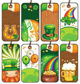 Price tags for the St. Patricks Day — Foto de Stock