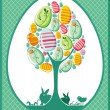 Easter egg tree. — Stock Photo
