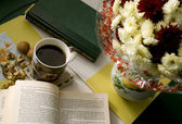 Coffe Reading — Stock Photo