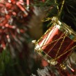 A Little Christmas Drum — Foto Stock