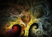 Fractal tree — Stock Photo