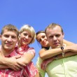 Group of four friends — Stock Photo #1218249