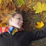 Autumn Girl — Stock Photo #1220524