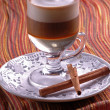 latte macchiato coffee — Foto Stock