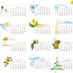 Calendar 2010 — Stock Vector #1249635