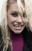 голодный вампир — Стоковое фото