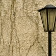 Lantern on a background of a wall — Stock Photo #1238872