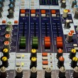 Stock Photo: Sound producer mixer