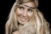 скандинавские девушка — Стоковое фото