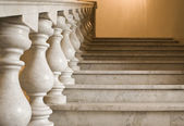 Marble ladder on a empire style — Stock Photo