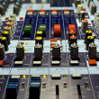 Sound producer mixer — Stock Photo