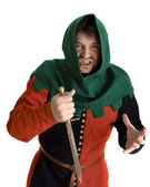 Medieval robbe — Stock Photo