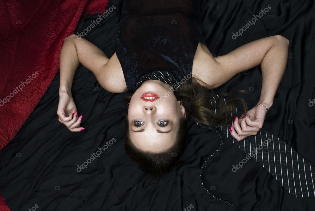 Crime Dead Photo Scene Strangled Woman