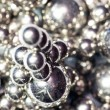 Abstract background from metal balls — Stock Photo