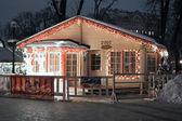 Santa's house — Stock Photo