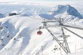 Gondola in Kitzbuel — Stock Photo