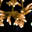 Garland from leds — Stock Photo