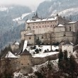 Stock Photo: Medieval castle on hill