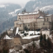Medieval castle on the hill — Stock Photo #1739848