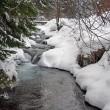 Winter river — Stock Photo