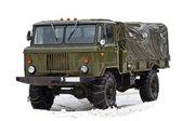 Vintage soviet truck — Stock Photo